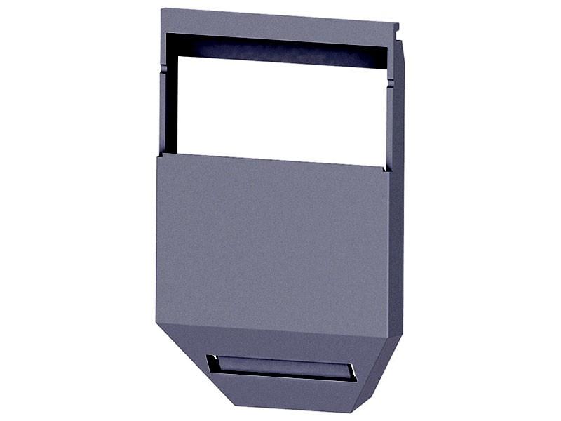 bachmann desk 2 versteckte kabelf hrung inox. Black Bedroom Furniture Sets. Home Design Ideas