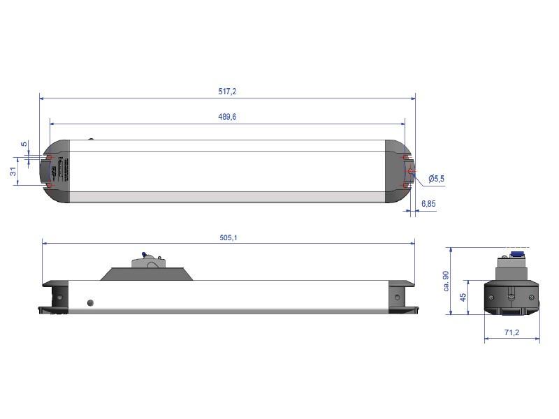 Bachmann PRIMO, 6x Steckdose, Fehlerstromschutzschalter, 331.035