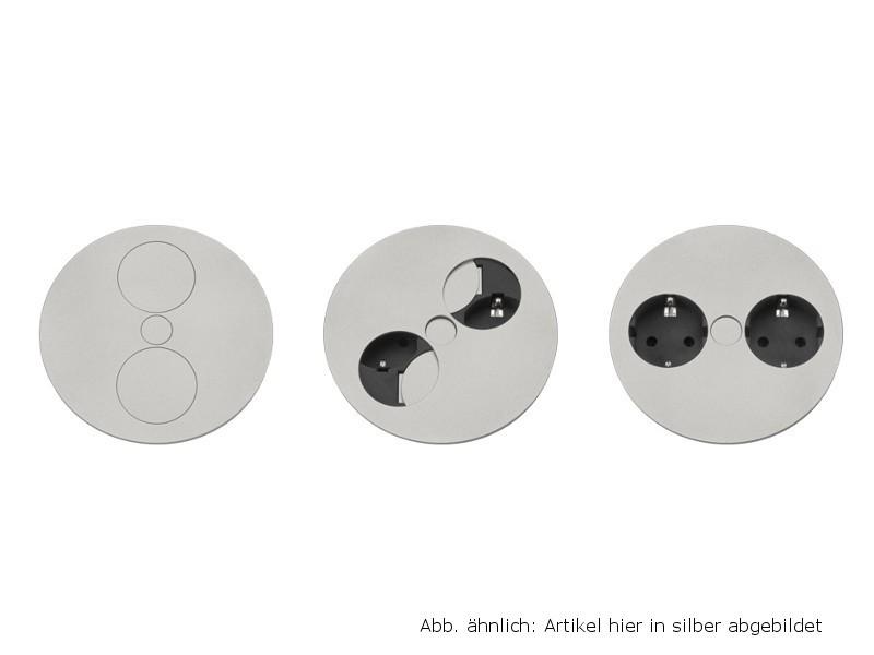 bachmann twist steckdose 2x keystone. Black Bedroom Furniture Sets. Home Design Ideas