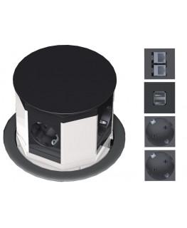 bachmann tischanschlussfelder lift mehrfach steckdose. Black Bedroom Furniture Sets. Home Design Ideas