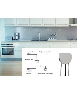 bachmann k chenanschlussbox kochfeld backofen getrennt. Black Bedroom Furniture Sets. Home Design Ideas