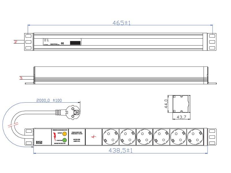 Motorschutzfilter Kunststoffrahmen geeignet Philips FC9150//01-02 Performer