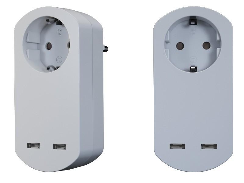 bachmann smart adapter mit berspannungsschutz. Black Bedroom Furniture Sets. Home Design Ideas